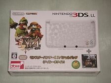 Nintendo 3DS LL Console Limited Monster Hunter 4 SP Pack Airou White JAPAN notXL