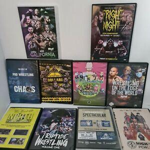 Indy Pro Wrestling Dvd Bundle Including Keith Lee walter Wwe Aew Wrestling