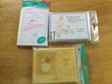 Lot of Baby Shower Hallmark Precious Moments, American Greetings Invitations