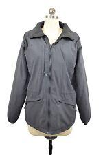 Columbia Womens Core Interchange Coat Size M Gray Black Fleece Lined