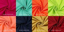 5 Meter Indian Plain Solid Fabric 100% Cotton Light Weight New Sanganeri Fabrics