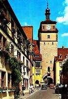 Rothenburg o.d. Tauber , Weißer Turm , Ansichtskarte ungelaufen