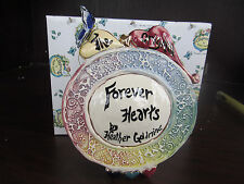 Blue Sky Clayworks Forever Hearts By Heather Goldminc new in box 320459 Cv