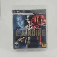 L.A. Noire Playstation 3 Complete CIB