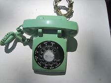 Throwback Vintage ITT Rotary Dial Telephone Mint Jadeite Green (100% Working)