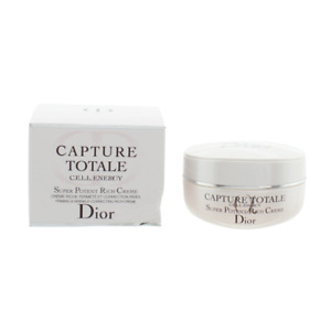 Dior Capture Totale Cream Cell Energy Super Potent Rich 50ml Moisturiser NEW