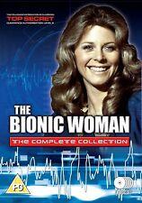 THE BIONIC WOMAN (1973-1994): COMPLETE Original TV Season Series - R2 DVD not US