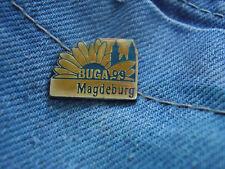 Pin Bundesgartenschau Magdeburg Buga 1999 Sachsen-Anhalt Deutschland Germany