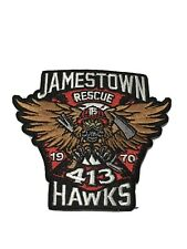 "Toronto Fire Station 413 ""JAMESTOWN HAWKS"" Patch."