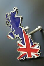 Red Union Jack UK British 3D Metal Car Front Grille Badge Decal Emblem England