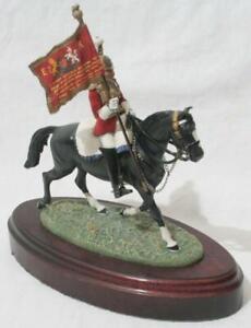 Superb BPC Pewter Figure Charles C Stadden - Mounted #1