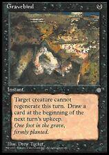 MTG Magic - Ice Age - Gravebind -  Rare VO