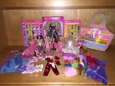 Barbie Dolls Baby Girl & Accessories Lot Clothes Shoes Dresses Bags Boots Used