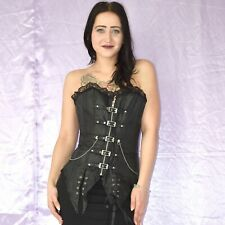 Gothic Steampunk Corsage S Full-Breast Corsage Top Lingerie Sexy Lingerie