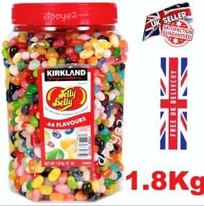 Kirkland Jelly Belly Gourmet Jelly Beans Sweet 44 Delicious flavours up to 1.8kg