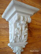 stuc - stuc de façade - Table console en béton - Banc de fenêtre console de toit