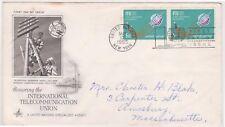 (K81-10) 1965 UN FDC 10c Honouring ITU of the UN used (J)