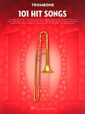 101 Hit Songs Trombone aktuelle Pop Songs Noten für Posaune