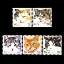 Malta 2004 - Cats Fauna - Sc 1153/7 MNH