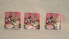 Mello Smello Scratch & Sniff Sticker Daisy Donald Duck Hamburger Heaven Lot of 3