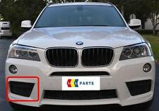 Bmw X3 10-14 new genuine front m sport pare-chocs o/s droit lower grill 8050446