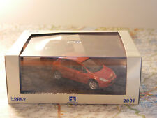 NOREV  PEUGEOT 307 XSI RED NEW DIE-CAST 1:43