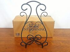Taste Of Home Entertaining Ornate Black Cookbook Stand 4003 NIB