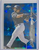 EDWIN ENCARNACION 2020 TOPPS CHROME SAPPHIRE REFRACTOR CARD CHICAGO WHITE SOX