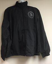 CIA Covert Communications Grp Ars Est Celare Artem Black Wind Breaker Jacket