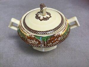 Myott Son and Co Hanley sugar bowl made in England.