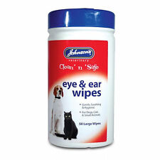 Johnson's Ear & Eye Wipes For Dogs And Cats