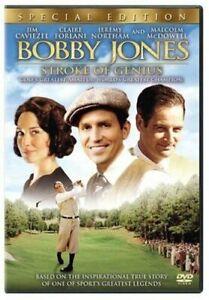 Like New WS DVD Bobby Jones, Stroke of Genius (Special Edition) Jim Caviezel