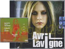 AVRIL LAVIGNE RARE CD PROMO MADE IN ITALY + VIDEO