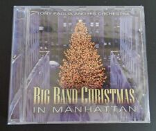 BIG BAND CHRISTMAS in Manhattan by Tony Paglia Orchestra CD 2004 New FREE SHIP