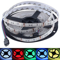 RGB Flexible LED Strip Lighting SMD 5050 5M 300 leds IP65 Waterproof 12V Strips