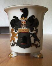 Porzellan Wappentasse GRAF V. EGLOFFSTEIN, Ritter, Franken, Uradel, Oberfranken