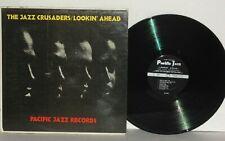 THE JAZZ CRUSADERS Lookin' Ahead LP 1962 Mono Vinyl Plays Well PJ43