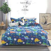 Dinosaur Single/Double/Queen/King Bed Quilt/Doona/Duvet Cover Set 100% Cotton