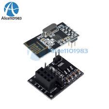 NRF24L01+ 2.4GHz RF Wireless Transceiver Module+8Pin Socket Adapter plate Board