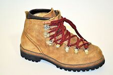 VTG 70s VASQUE HIKING BOOTS USA LEATHER Suede Mountaineering 6.5N narrow Mens