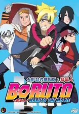 Naruto The Movie 11 : Boruto DVD (Japanese audio with English Subtitle)