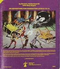 AD&D 1980 9035 Q1 Queen of the Demonweb Pits 1st Printing