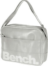 Bench Montuk Messenger Bag In Grey,Courier Shoulder Unisex School College - NEW