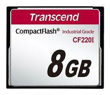 8GB Transcend intervallo di temperatura industriale CF220I 220 X Ultra CF (SLC)