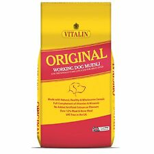 VITALIN ORIGINAL 2.5kg -  Working complete Muesli Dog Food Pet Feed Fishing Bait