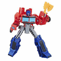 Transformers Cyberverse Optimus Prime Axe Attack Warrior Class new open box