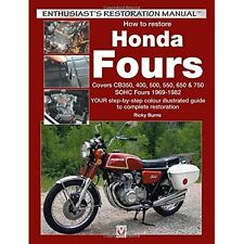 How to restore Honda SOHC Fours: YOUR step-by-step colo - Paperback NEW Ricky Bu