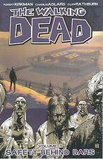 WALKING DEAD VOL #3 TPB SAFETY BEHIND BARS Robert Kirkman Horror Comics 13-18 TP
