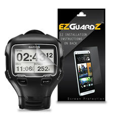 2X EZguardz LCD Screen Protector Skin Cover HD 2X For Garmin Forerunner 910XT