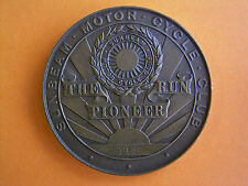 Sunbeam Motor Cycle Club - The Pioneer Run - Participants Medal 1968